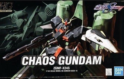 "Bandai HG 1/144 #19 Chaos Gundam ""Gundam Seed"""