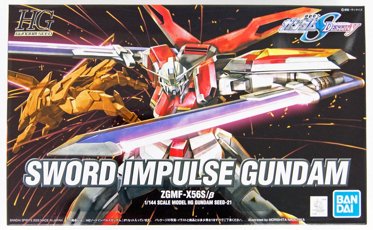 """Bandai HG 1/144 #21 Sword Impulse Gundam """"Gundam SEED Destiny"""""""