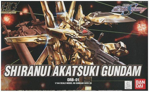 "Bandai HG 1/144 #38 Shiranui Akatsuki Gundam ""Gundam SEED Destiny"""