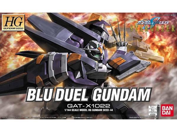 "Bandai HG #44 1/144 Blu Duel Gundam ""Gundam SEED Stargazer"""