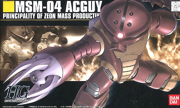 """Bandai HGUC #78 1/144 MSN-04 Acguy """"Mobile Suit Gundam"""""""
