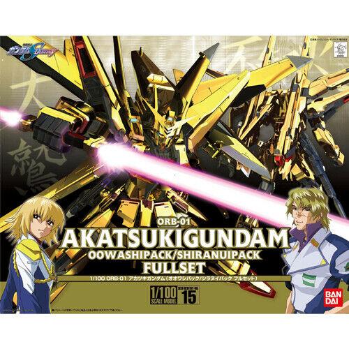 """Bandai 1/100 #15 Akatsuki Gundam Oowashi/Shiranui """"Gundam SEED Destiny"""""""