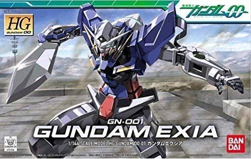 "Bandai HG 00 #1 1/144 Gundam Exia ""Gundam 00"""