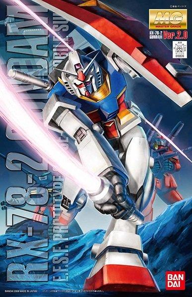 """Bandai MG 1/100 RX-78-2 Gundam Ver.2.0 """"Mobile Suit Gundam"""""""