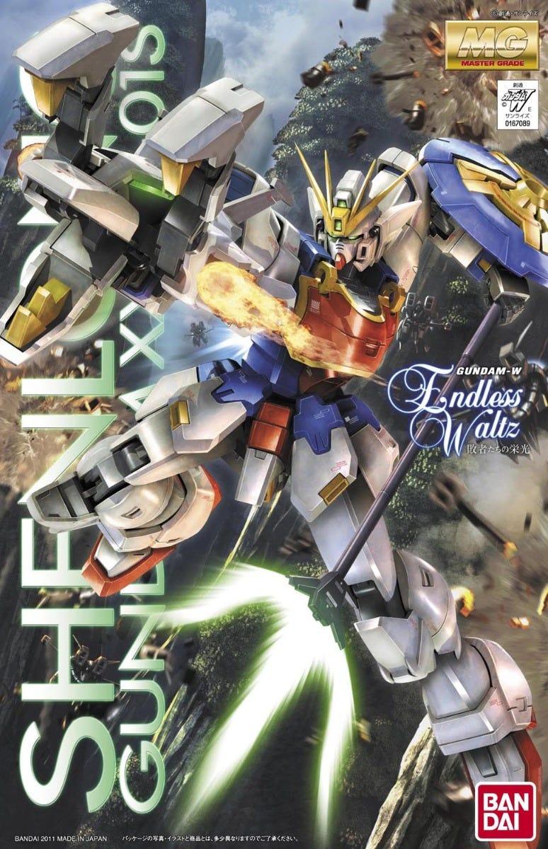 "Bandai MG 1/100 Shenlong Gundam (EW) ""Gundam Wing: Endless Waltz"""