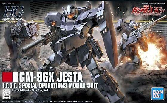 Bandai HGUC #130 1/144 Gundam RGM-96X Jesta