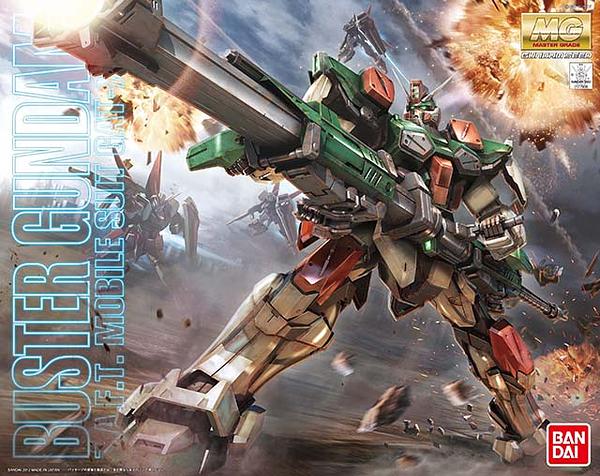 "Bandai MG 1/100 Buster Gundam ""Gundam SEED"""