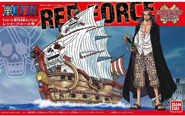 """Bandai One Piece Grand Ship Collection 04 Red Force Model Ship """"One Piece"""""""