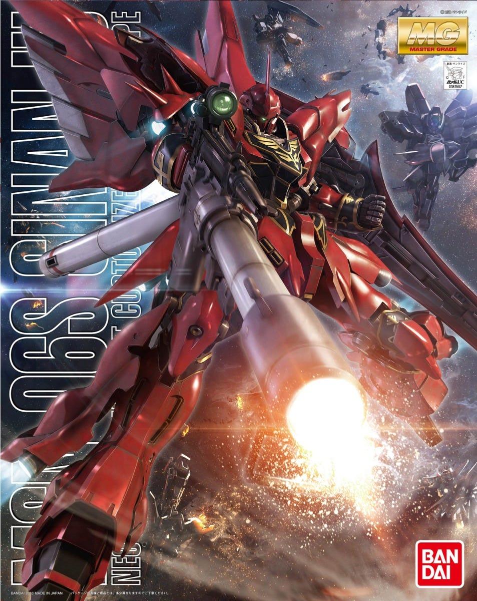 "Bandai MG 1/100 Sinanju (Animation Color) ""Gundam UC"""