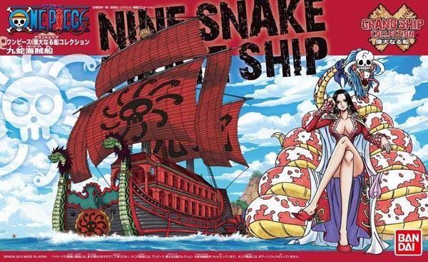 "Bandai One Piece Grand Ship Collection 06 Kuja Pirates Ship ""One Piece"""