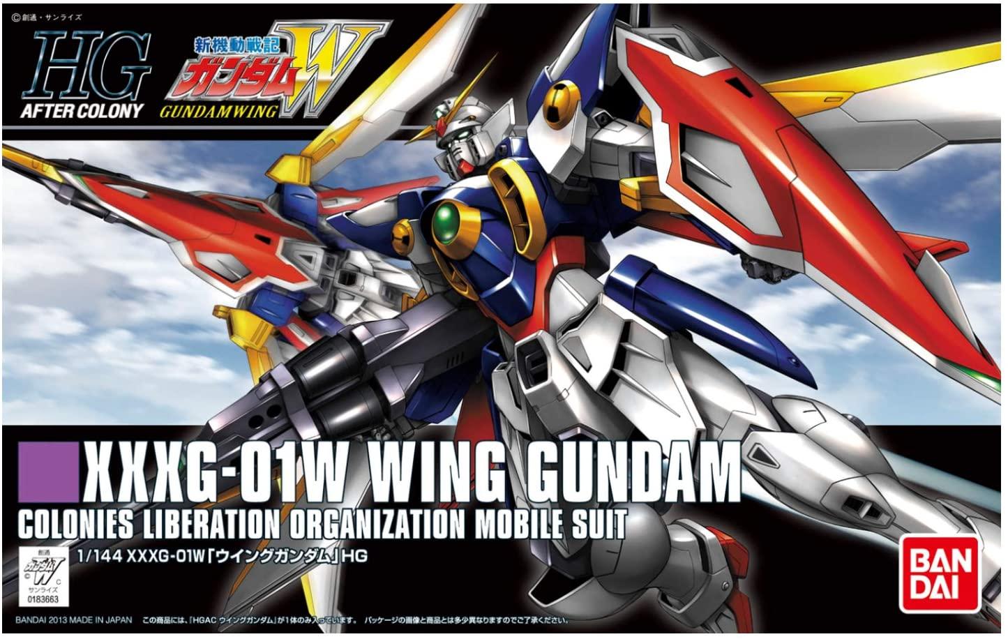 """Bandai HGAC #162 1/144 XXXG-01W Wing Gundam, """"Gundam Wing"""""""