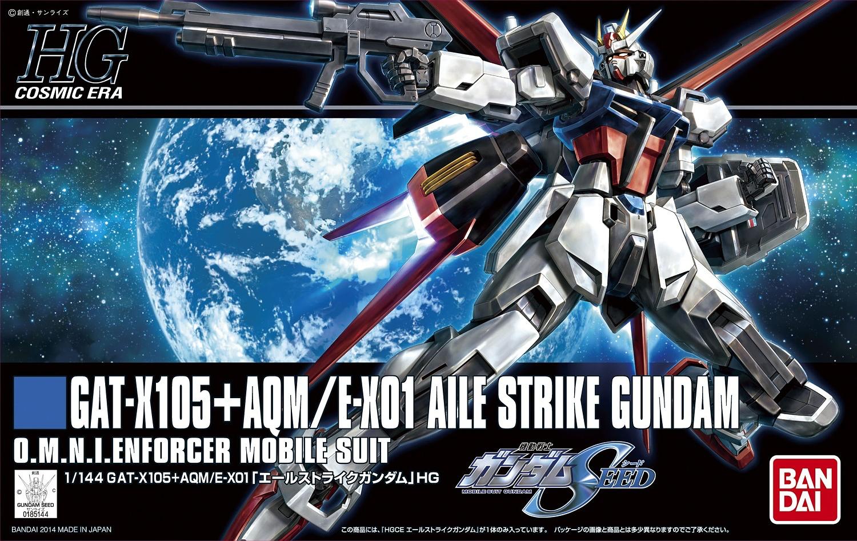 """Bandai HGCE #171 1/144 GAT-X105 + AQM/E-X01 Aile Strike Gundam """"Gundam SEED"""""""