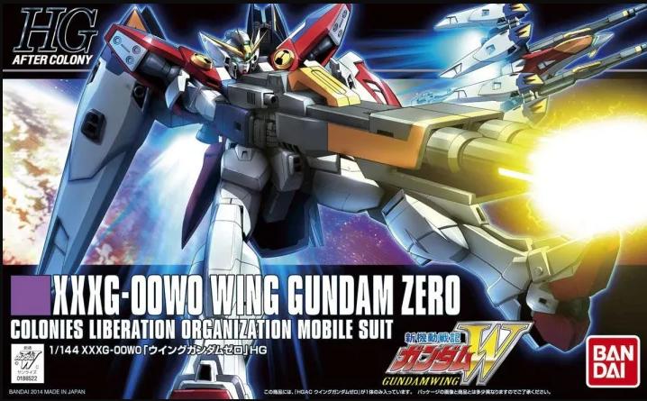 "Bandai HGAC #174 1/144 Wing Gundam Zero ""Gundam Wing"""