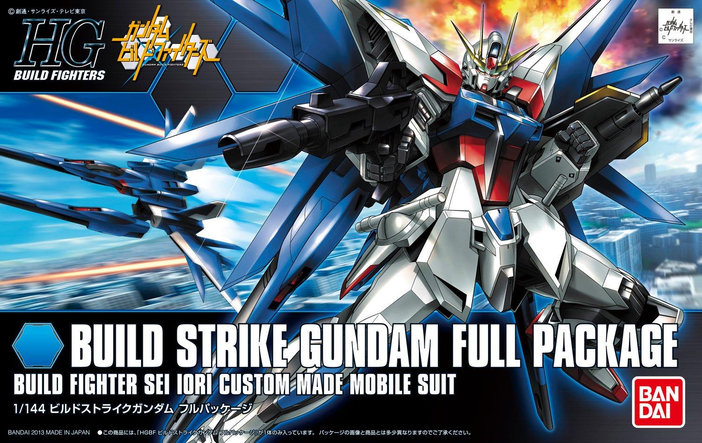 """Bandai HGBF #01 1/144 Build Strike Gundam Full Package """"Gundam Build Fighters"""""""