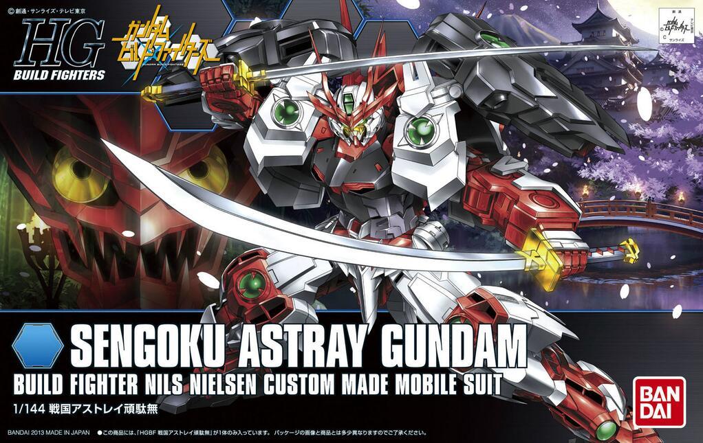"Bandai HGBF #07 1/144 Sengoku Astray Gundam ""Gundam Build Fighters"""