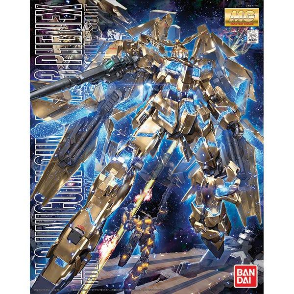 """Bandai MG 1/100 Unicorn Gundam 03 Phenex """"Gundam UC"""""""