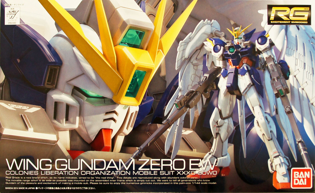 "Bandai RG #17 1/144 Wing Gundam Zero (EW), ""Gundam Wing: Endless Waltz"""