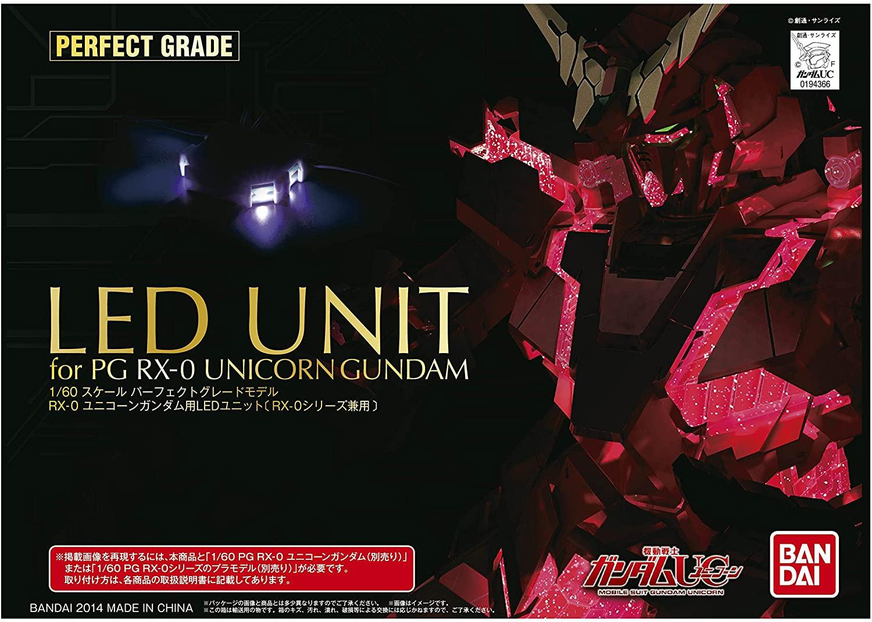 """Bandai PG 1/60 Unicorn Gundam LED SET """"Gundam UC"""""""