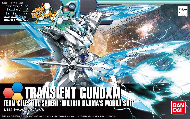 """Bandai HGBF #34 1/144 Transient Gundam """"Gundam Build Fighters Try"""""""