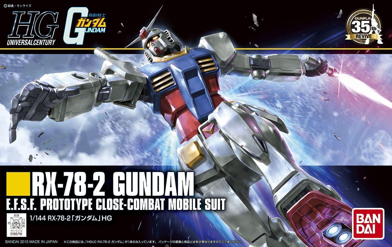 "Bandai Spirits HGUC #191 1/144 RX-78-2 Gundam (Revive) ""Mobile Suit Gundam"""