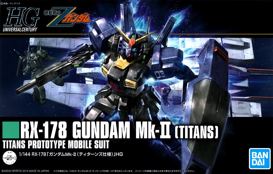 "Bandai HGUC #194 1/144 Gundam Mk-II Titans ""Z Gundam"""