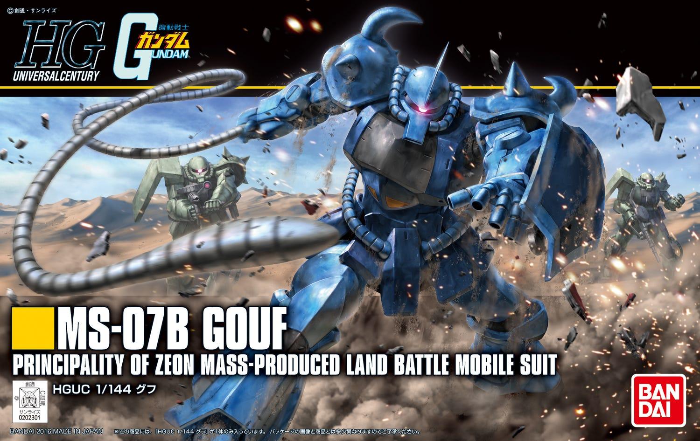 """Bandai HGUC #196 1/144 Gouf (Revive) """"Mobile Suit Gundam"""""""