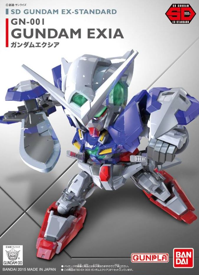 "Bandai SD EX-Standard #003 Gundam Exia ""Gundam 00"""
