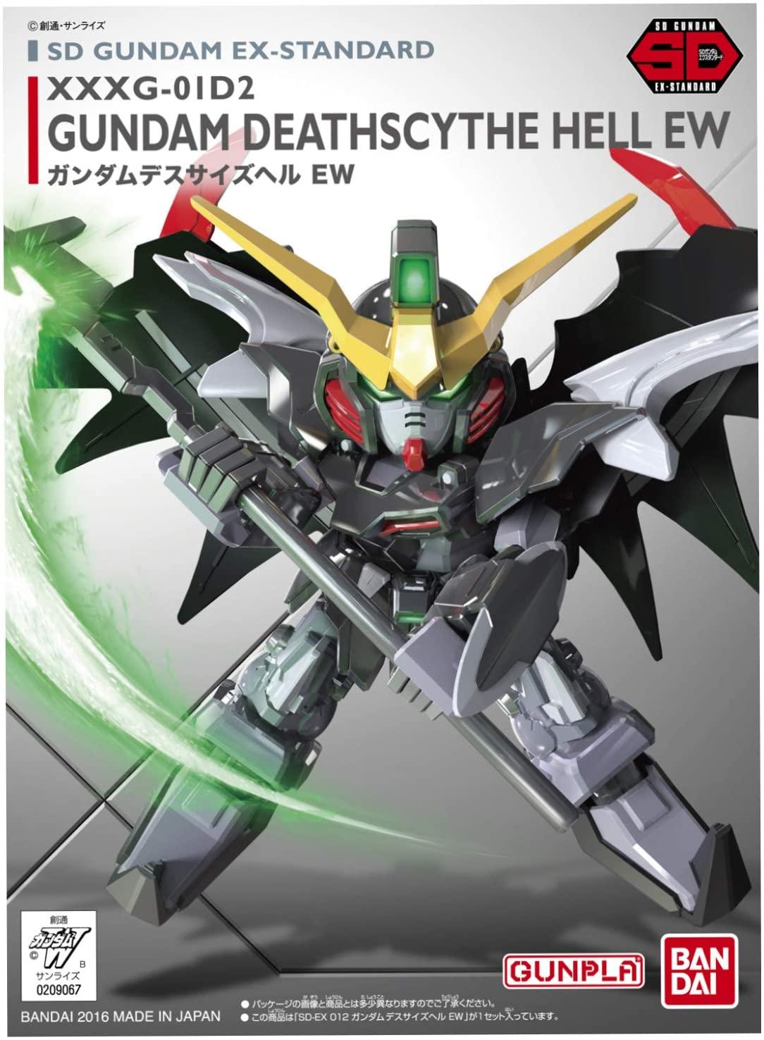 "Bandai SD EX-Standard #012 Gundam Deathscythe Hell (EW) ""Gundam Wing: Endless Waltz"""