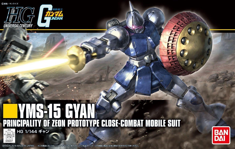 """Bandai #197 Gyan (Revive) """"Mobile Suit Gundam"""", Bandai HGUC"""