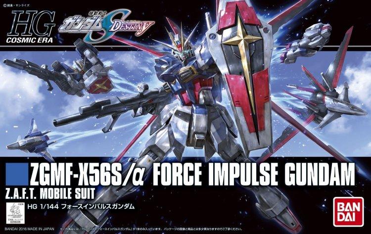 "Bandai HGCE 1/144 #198 Force Impulse Gundam ""Gundam SEED Destiny"""