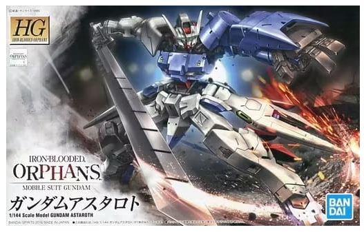"""Bandai HG IBO 1/144 #19 Gundam Astaroth """"Gundam IBO Moonlight"""""""