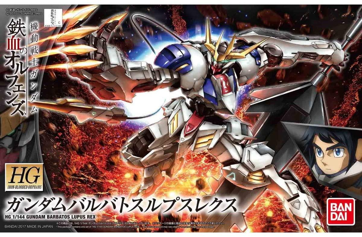 "Bandai HG #33 1/144 Gundam Barbatos Lupus Rex ""Gundam IBO"""