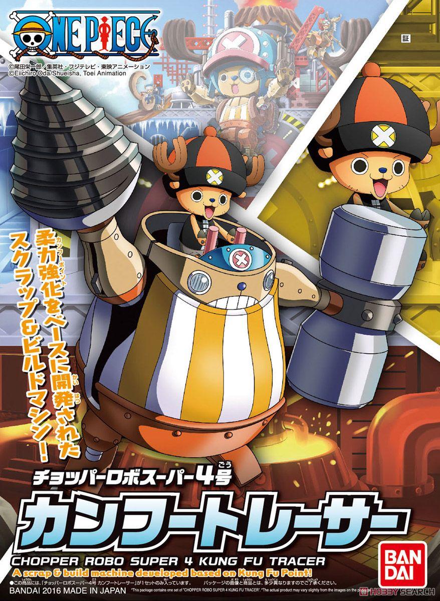 Bandai One Piece Stampede Chopper Robo Super 4 Kung Fu Tracer
