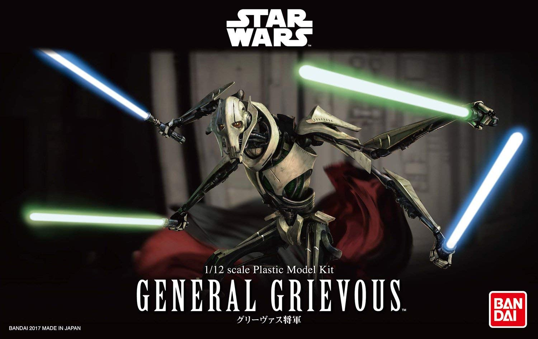 "Bandai Star Wars Character Line 1/12 General Grievous ""Star Wars"""