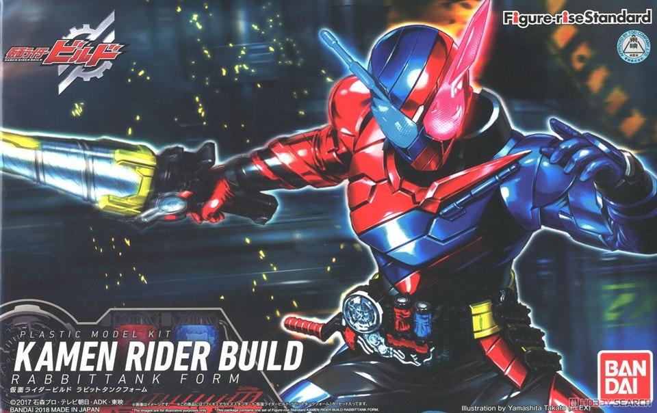 Bandai Figure-Rise Standard Kamen Rider Masked Rider Build Rabbit Tank Form