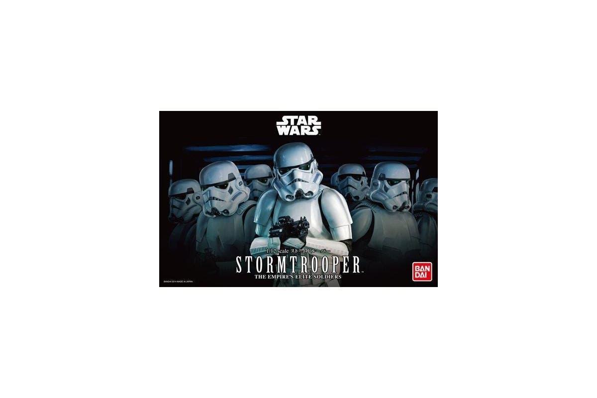 "Bandai Star Wars Character Line 1/12 Stormtrooper ""Star Wars"""