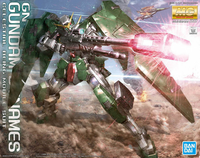 "Bandai MG 1/100 Gundam Dynames ""Gundam 00"""