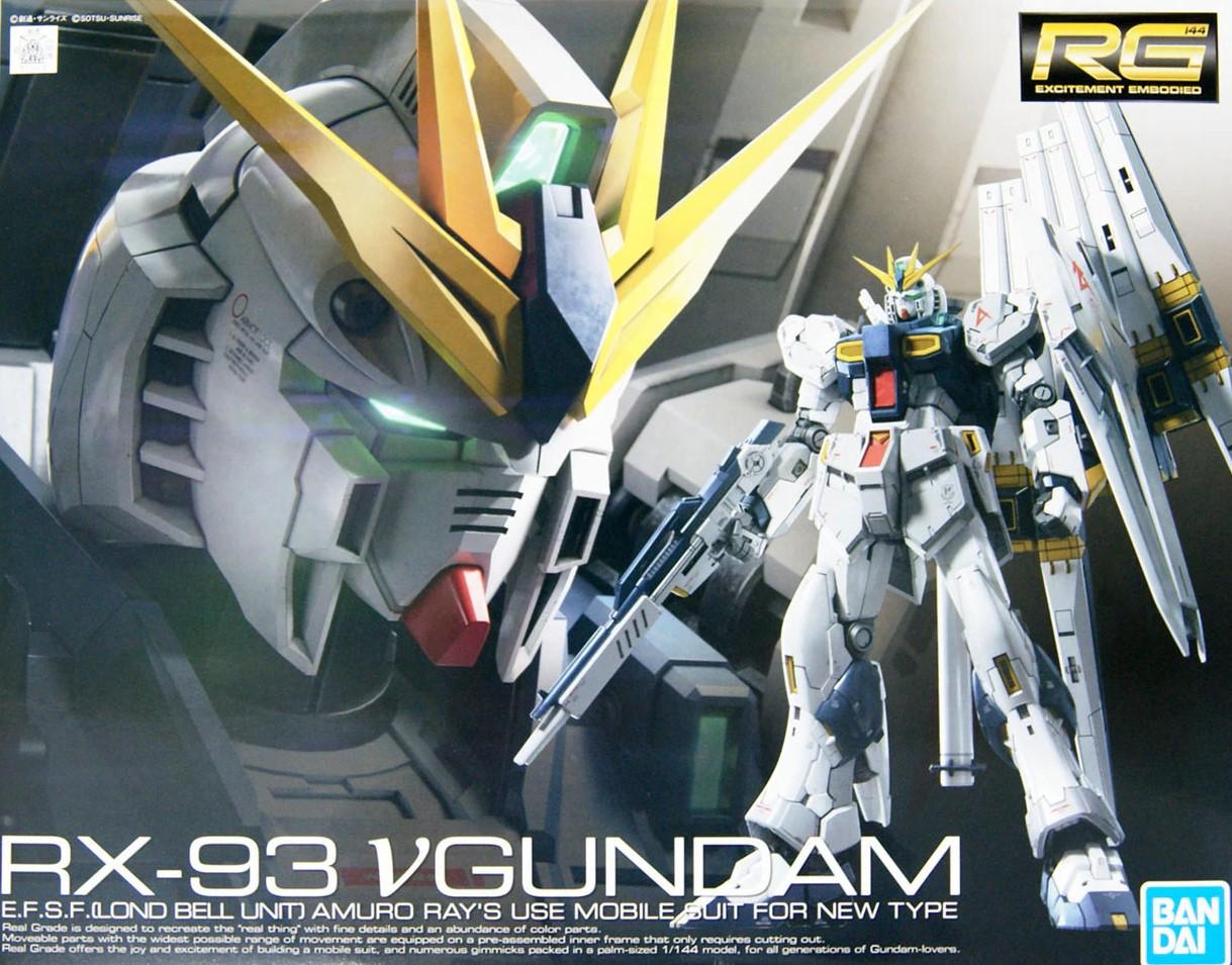 """Bandai RG 1/144 #32 Nu Gundam """"Char's Counterattack"""""""