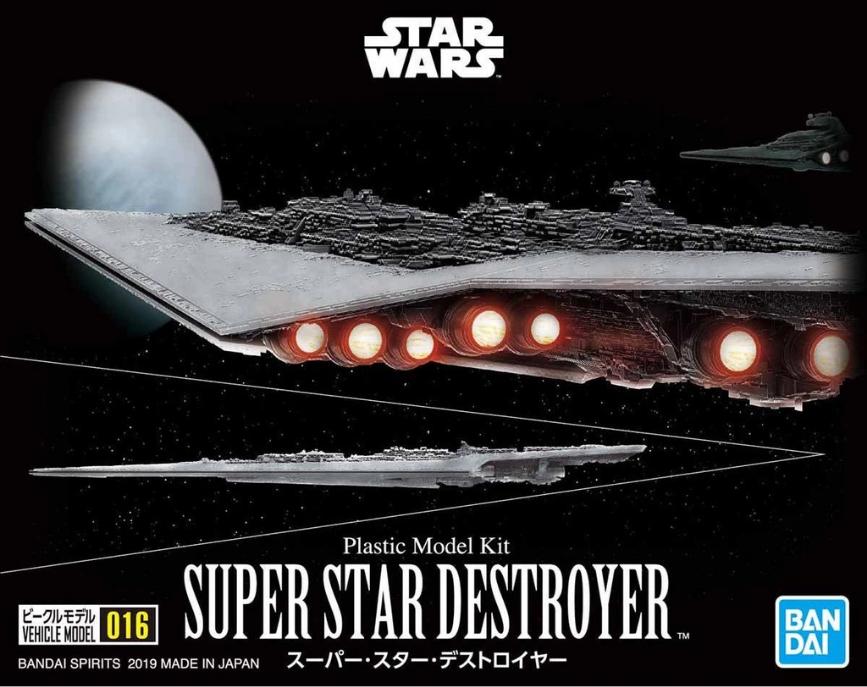 "Bandai Star Wars Vehicle Model 016 Super Star Destroyer ""Star Wars"""