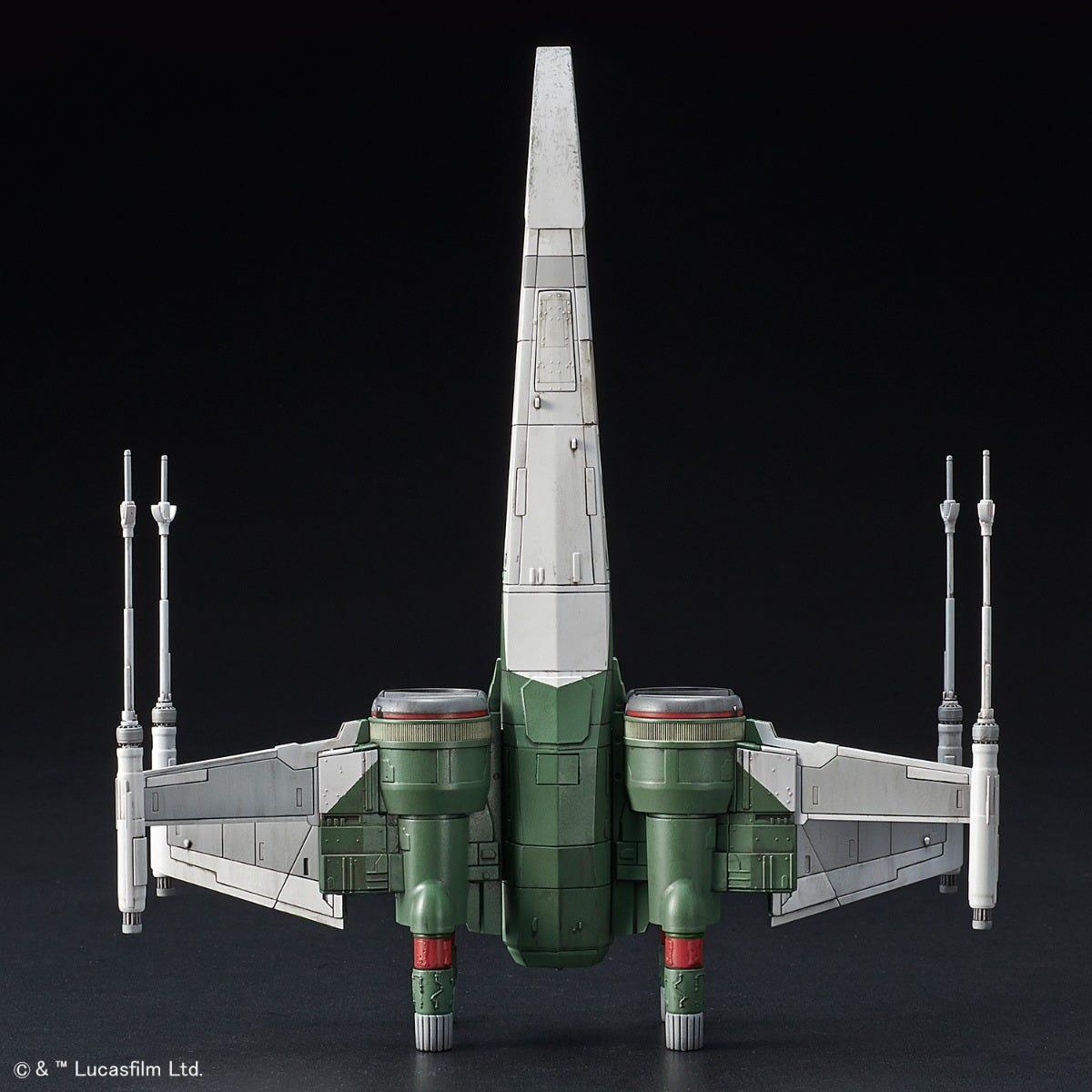 "Bandai X-Wing Fighter (Rise of Skywalker Ver.) ""Star Wars"", Bandai Spirits 1/72 Vehicle Model"