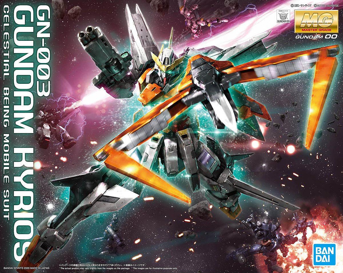 """Bandai Spirits MG 1/100 Gundam Kyrios """"Gundam 00"""""""