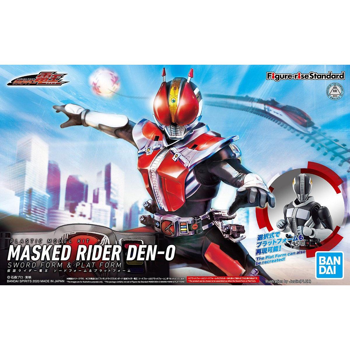 "Bandai Spirits Figure-Rise Standard Den-O Sword Form & Plat Form ""Kamen Rider Den-O"""
