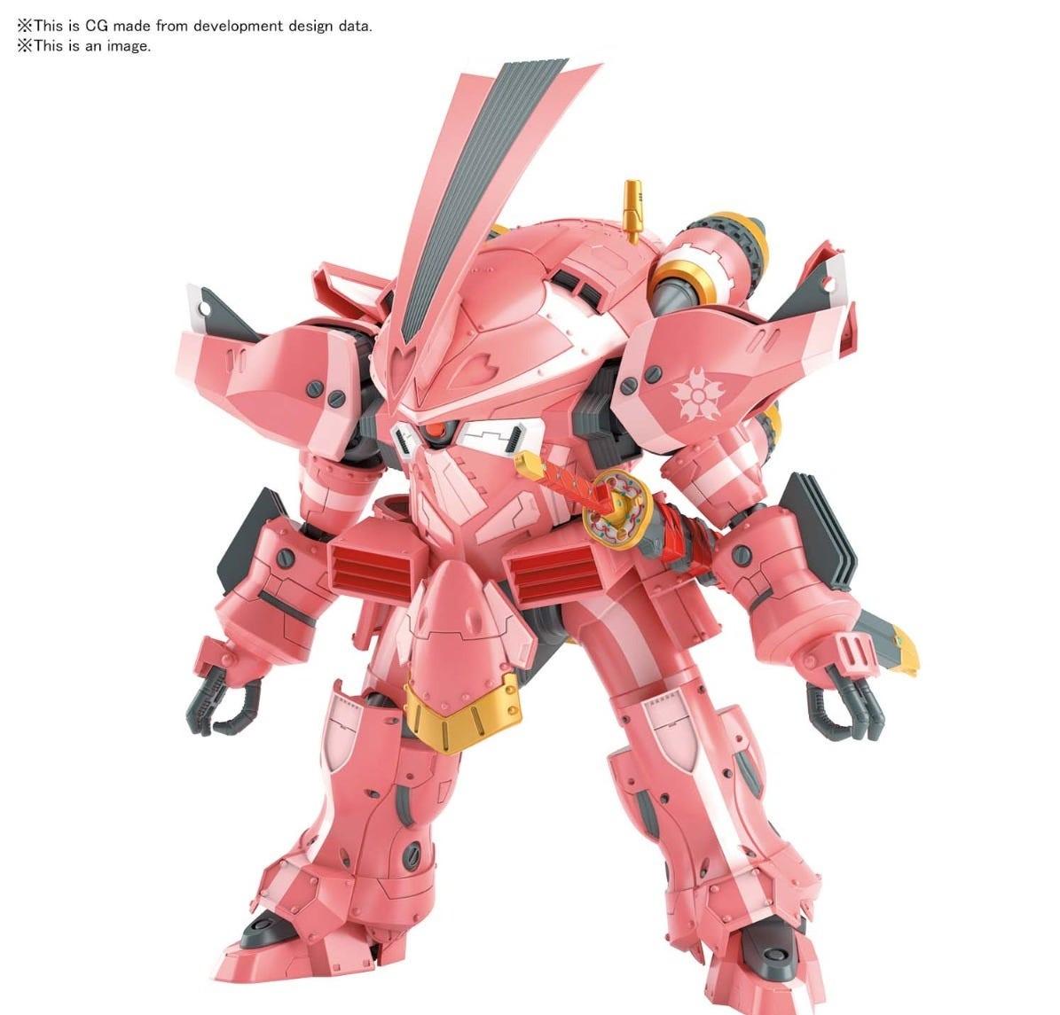 """Bandai Spirits HG 1/24 Spiricle Striker Prototype Obu (Sakura Amamiya Type) """"Sakura Wars"""""""