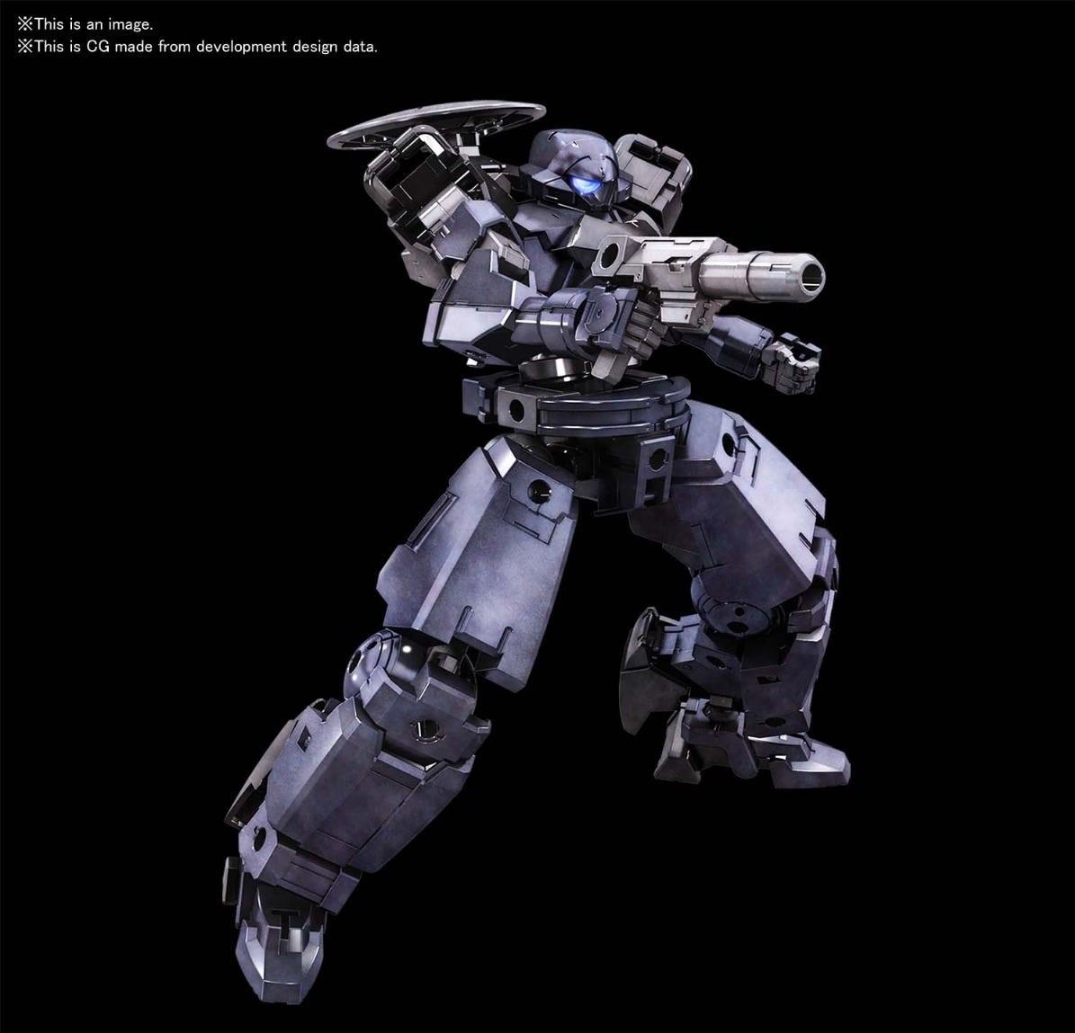 Bandai Spirits 30 Minute Missions #27 1/144 bEXM-14T Cielnova (Dark Gray)