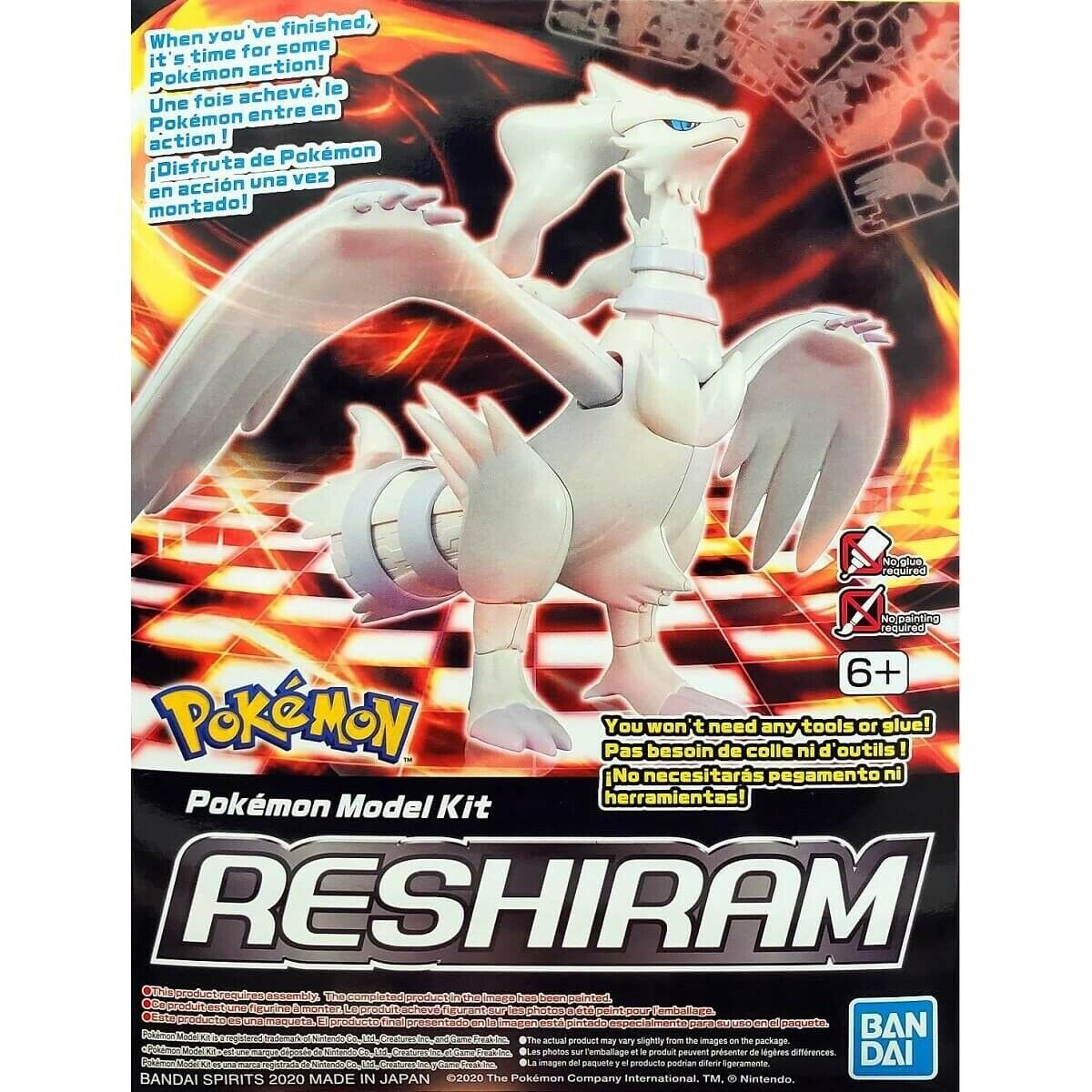Bandai Spirits Pokemon Model Kit #13 Reshiram