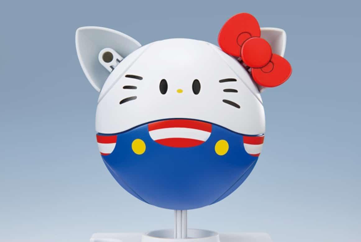 "Bandai Spirits Model Kit Haro Kitty ""Hello Kitty x Haro"""