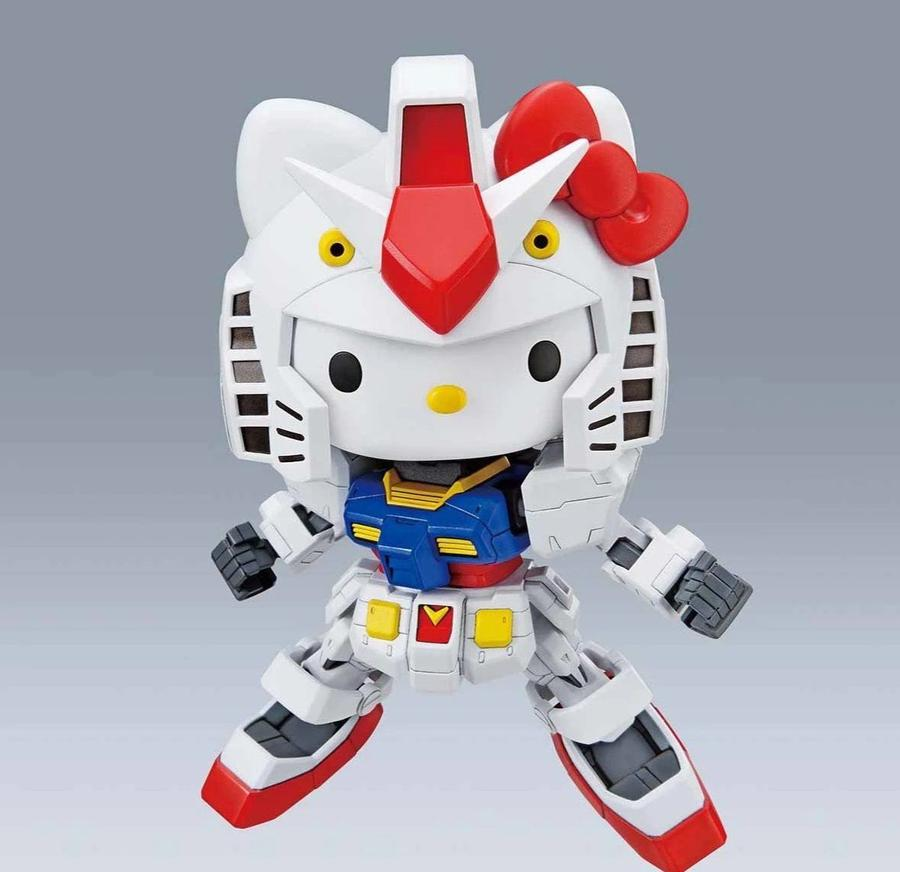 "Bandai Spirits SD-EX Standard Hello Kitty & RX-78-2 Gundam ""Gundam"""