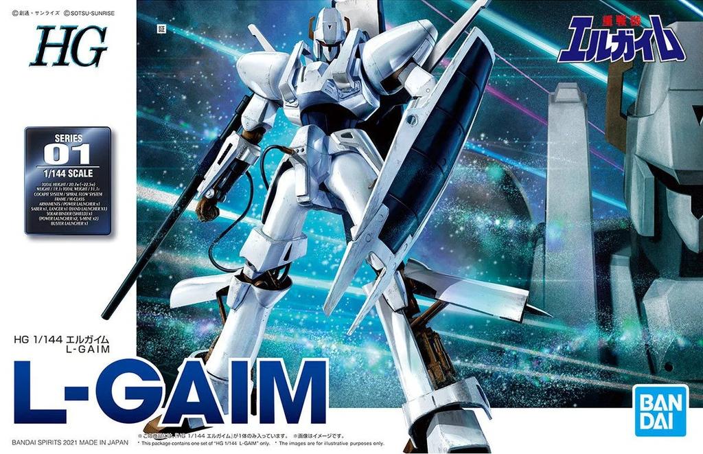 """Bandai 1/144 L-Gaim """"L-Gaim"""" Spirits HG"""