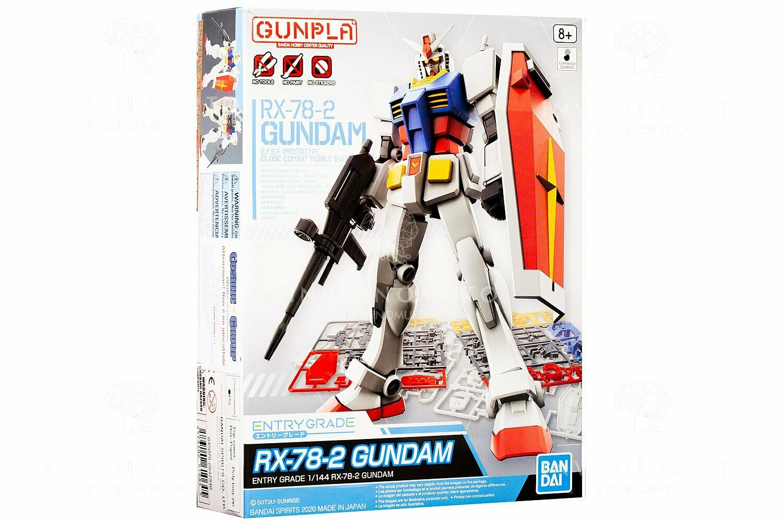 "Bandai Spirits Entry Grade 1/144 RX-78-2 Gundam ""Mobile Suit Gundam"""
