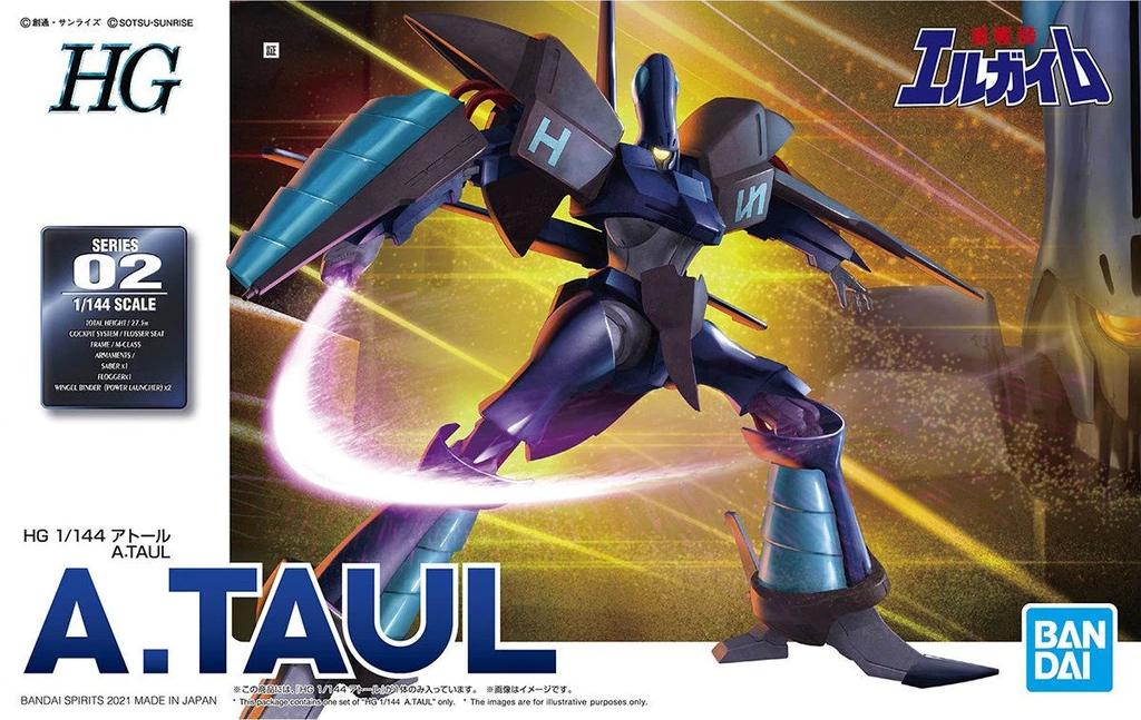 """Bandai 1/144 A.Taul """"L-Gaim"""" Spirits HG"""